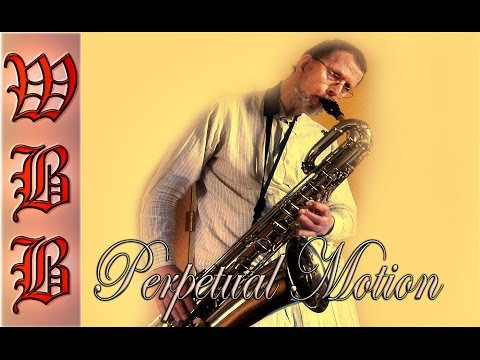 """""""Perpetual Motion"""" - Woodside Big Band recording session 2006"""