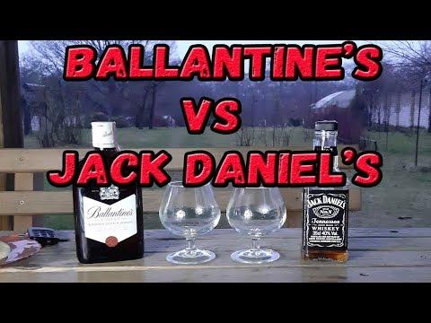 По вашим заявкам :) Ballantine's Vs Jack Daniel's