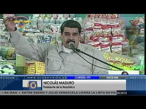 Maduro rechaza que Santos prohíba la compra de medicamentos en Colombia