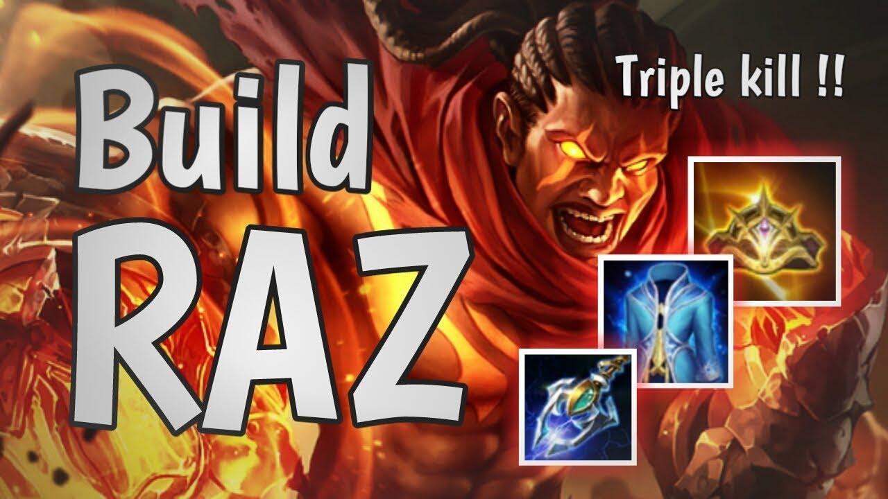 Build Raz Def Magic Damage Nya Wow Arena Of Valor Aov