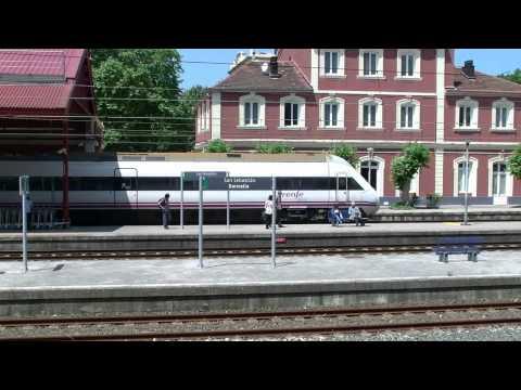 Renfe (Spain Railway) San Sebastian estacion - Donostia geltokia