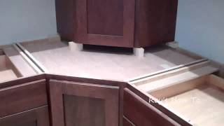 Installing Kitchen Cabinets With Appliance Garage