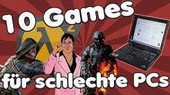 TOP 10 GAMES die auf JEDEM schlechten PC laufen | Auf 50 Euro Gaming PC getestet