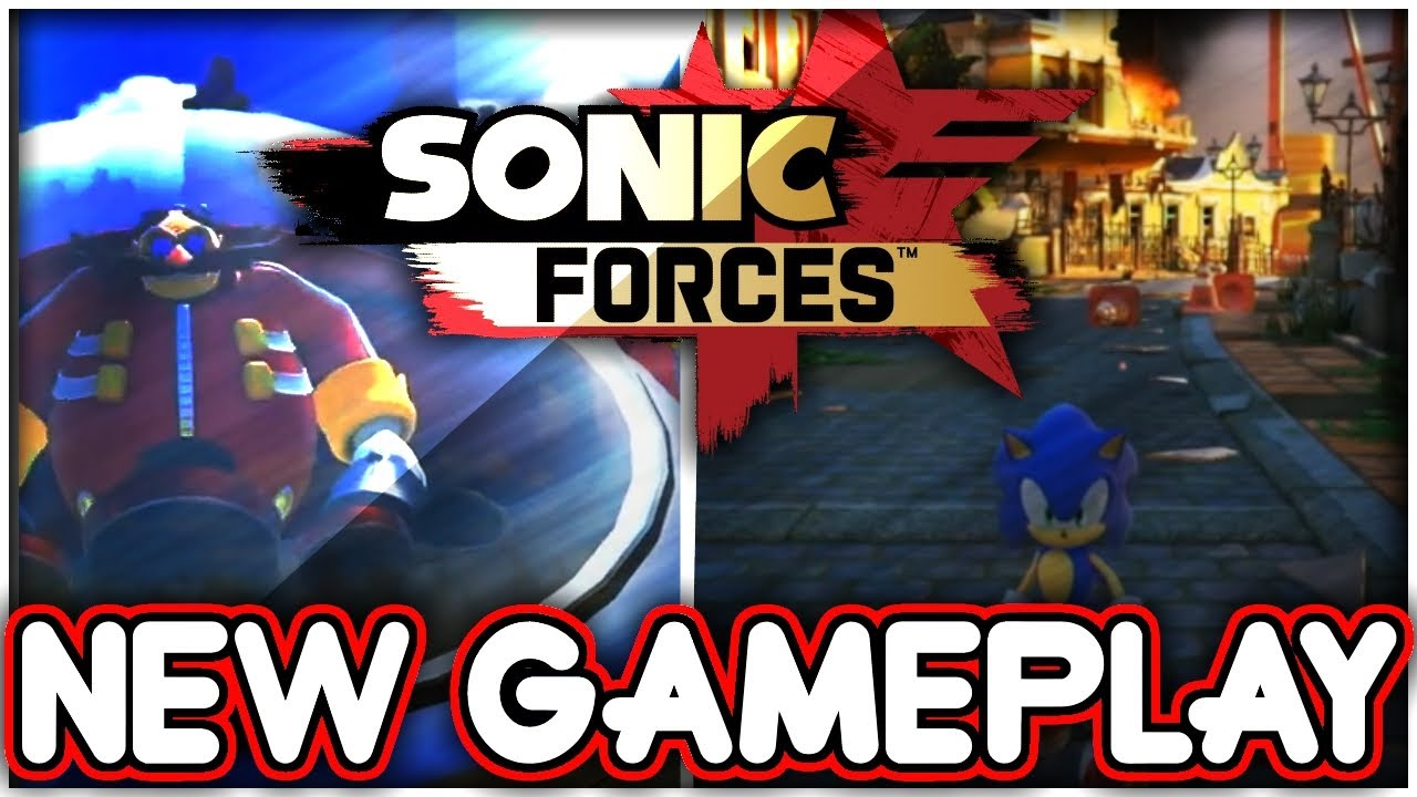 Sonic Forces New Gameplay Bosses World Map More Youtube