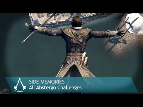 Assassin's Creed: Rogue - Side Memories - All Abstergo Challenges