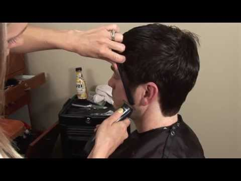 HOW TO CUT Mens Medium / Long Hair With Scissors // Hair Tutorial