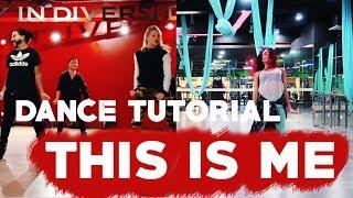 Видео-урок по танцам | Пошаговый разбор хореографии | This is me dance