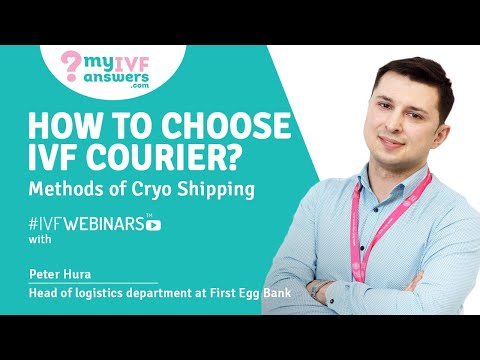 Cryo Shipping of IVF Samples: Reliable Courier #IVFWEBINARS