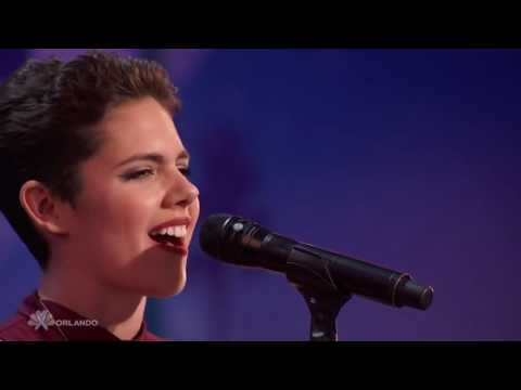Calysta Bevier Fight Song America's Got Talent