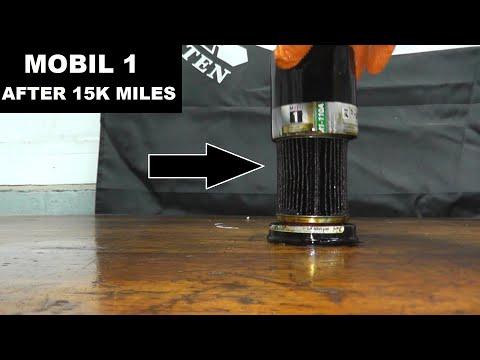 Mobil 1 Oil Filter After 15k Miles Of Usage