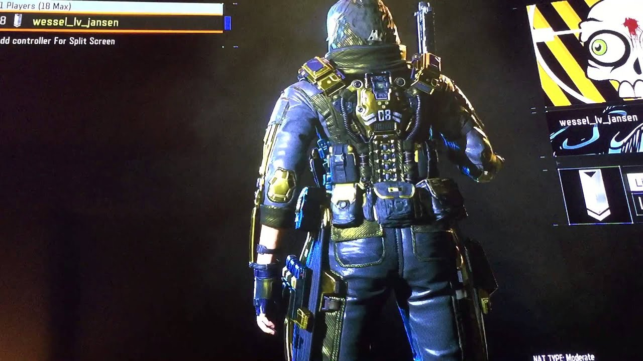 GOLD HERO GEAR OUTRIDER BLACK OPS 3
