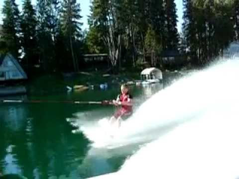 how to start barefoot skiing