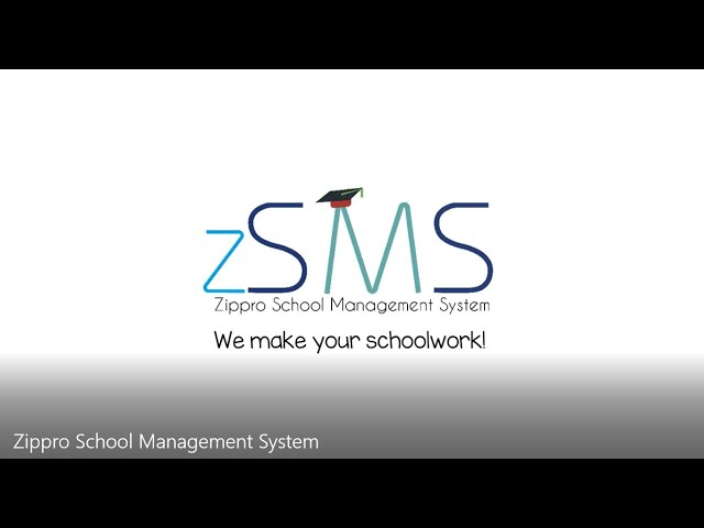 Zippro School Management System