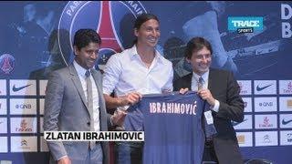 Download Video Une arrivée de rock star pour Zlatan Ibrahimovic au PSG MP3 3GP MP4