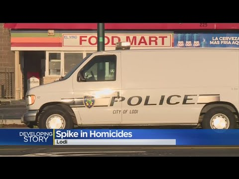 Lodi Sees Spike In Homicides