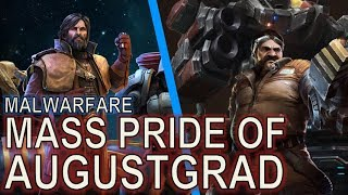 Starcraft II: Level 90 Mengsk - Mass Battlecruisers [Pride of Augustgrad]! and NUKES!!
