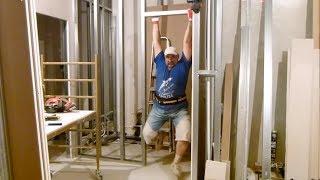 Как сделать перемычку для дверного проёма на метало-конструкциях для ГКЛ?(Это видео создано с помощью видеоредактора YouTube (http://www.youtube.com/editor), 2014-05-11T13:52:07.000Z)