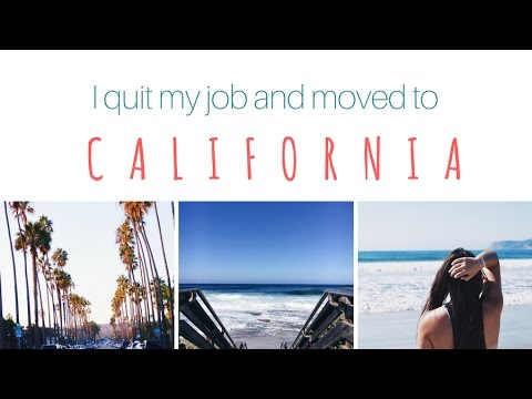 I Quit My Job and Moved To California 🌴