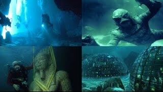 BERMUDA TRIANGLE LOST CITY : FOOTAGE SHOW HUGE KINGDOM HIDDEN UNDER WATER UFO ALIEN SIGHTINGS