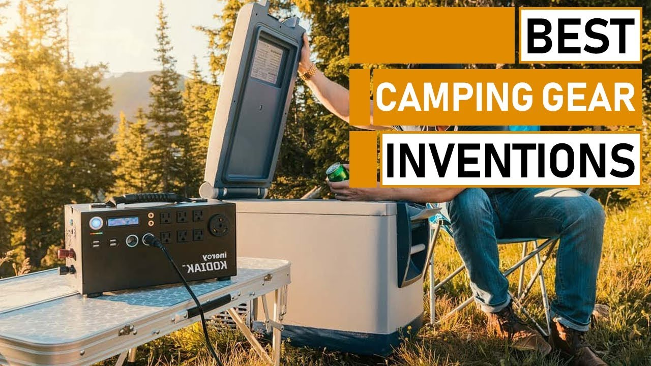 Top 5 Coolest Camping Gear Inventions You Must See