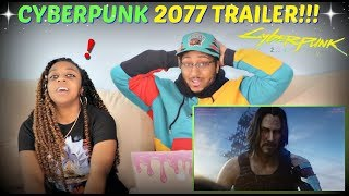 """Cyberpunk 2077"" Official Cinematic Trailer E3 2019 REACTION!!"