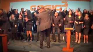 ceia do senhor   cogic 3   devocional mass choir   fique de p