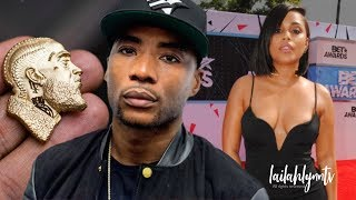 Charlamagne Gifts Lauren London A Nipsey Hussle Pendant After Body Shaming Her!