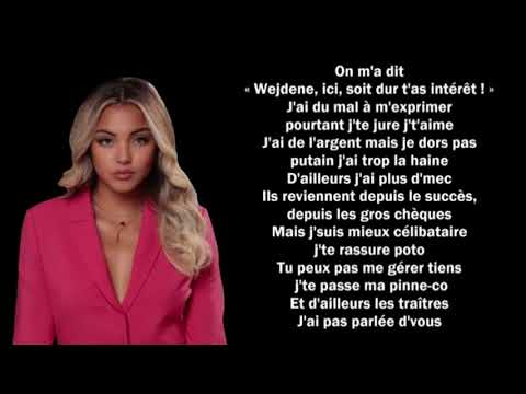 Download Wejdene - 16 Lyrics Parole