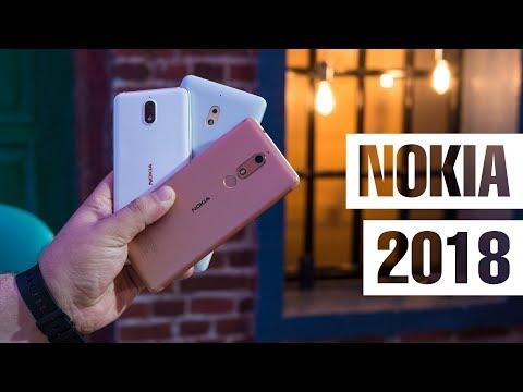 Почти обзор Nokia 5.1, Nokia 3.1 и Nokia 2.1. Что могут новые бюджетники Nokia - мнение FERUMM.COM
