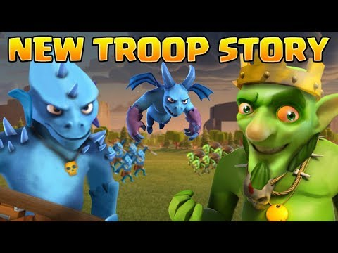 The Clash Of Clans Story Of The Goblin Horde, Reptilians & Minions - CoC Origin Story 2018 [Part 1]