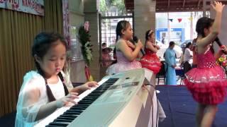 Organ Thiếu Nhi  Mái Trường Mến Yêu (Bé Ánh Dương & Mini Band 2B