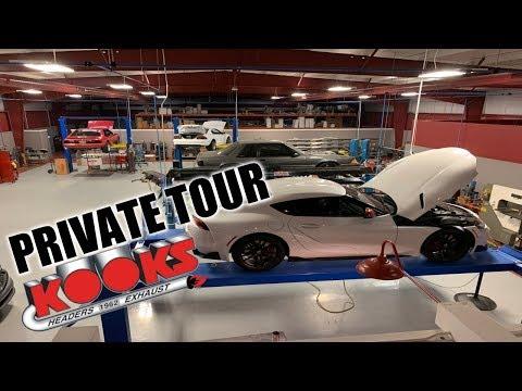 We Get An Exclusive Look Behind The Scenes At Kooks Headers!