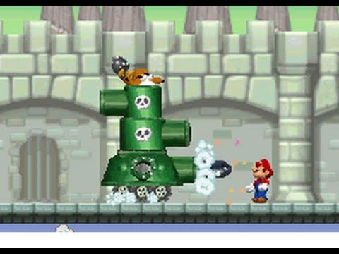 New Super Mario Bros Ds 100 Walkthrough World 6 All Star Coins Secret Exits Youtube