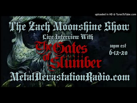 The Gates Of Slumber - Interview 2020 - The Zach Moonshine Show