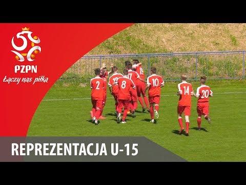 U-15: Bramki z meczu Polska - Węgry