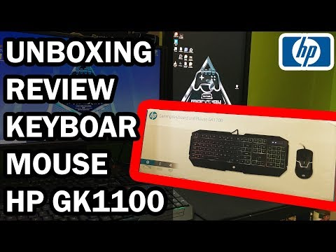 HP GK1100 UNBOXING & REVIEW