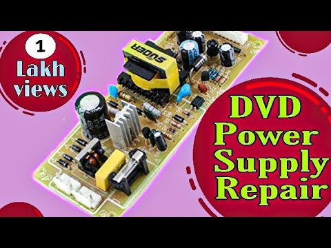 How To Repair Dvd Power Supply മലയാളം Youtube