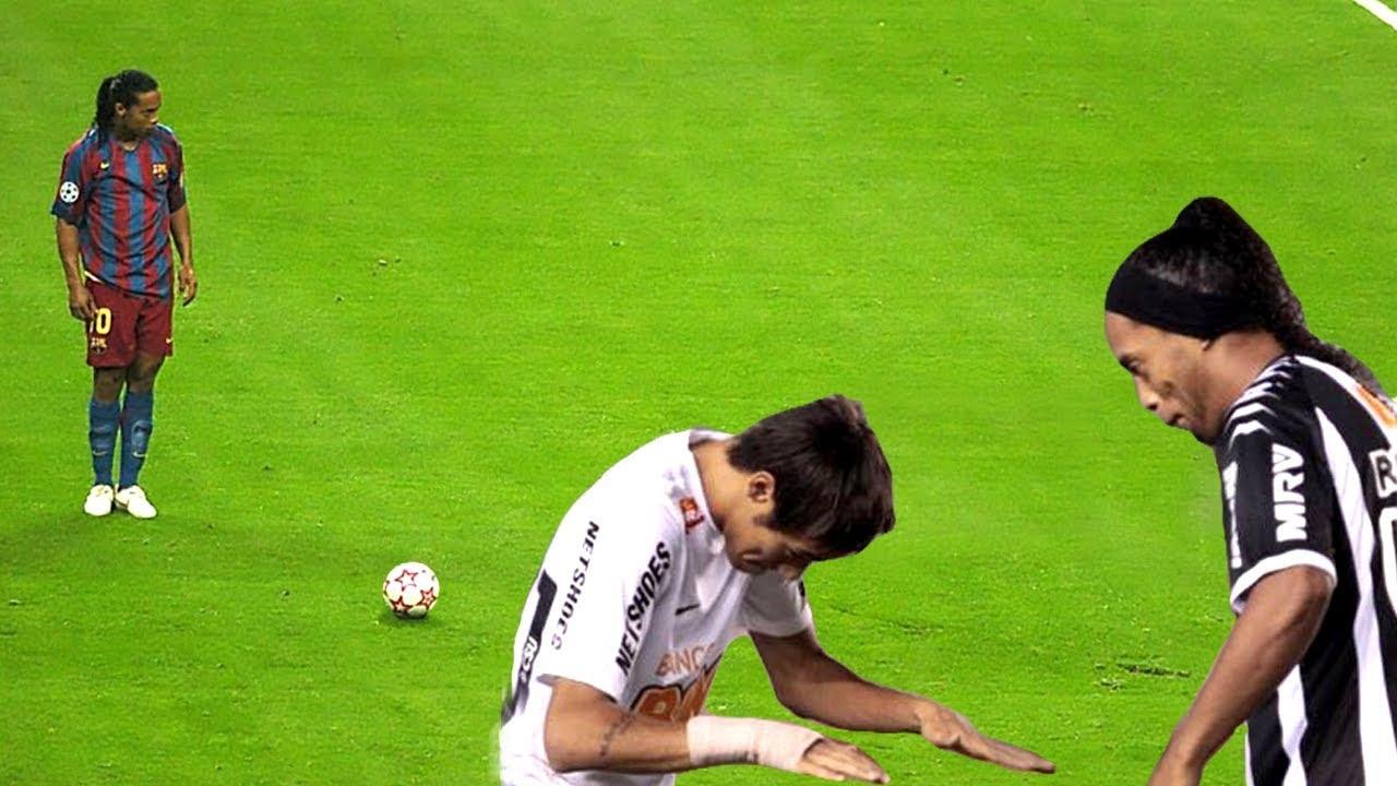 14 Vezes Que Ronaldinho Usou Magia No Futebol