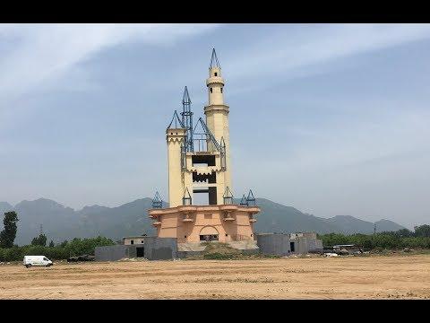 Abandoned  'Wonderland'  Theme Park in Beijing