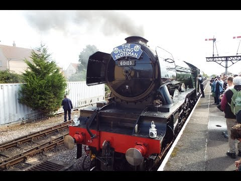 The Flying Scotsman West Somerset Railway 2017