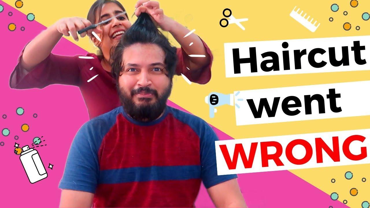 Haircut went WRONG - Vlog#205