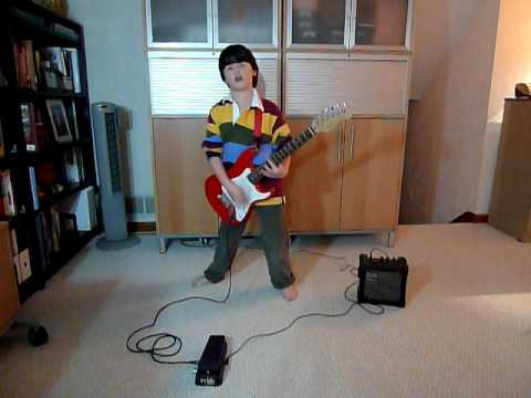 RHCP - Dani California - Guitar Cover by David (9 Yrs Old)