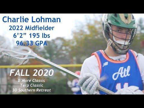 Download Charlie Lohman (2022 Midfielder) 2020 FALL Highlights