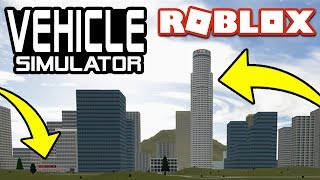 ALL SECRET LOCATIONS in Vehicle Simulator! | Roblox