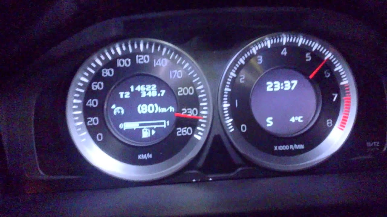 Volvo S80 2017 >> Polestar Volvo S80 T6 top speed 260 km/h - YouTube