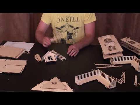 Сборка кукольного домика