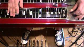 Rock & Blues Pentatonic Scale - Pedal Steel Guitar Lessons by Johnny Up
