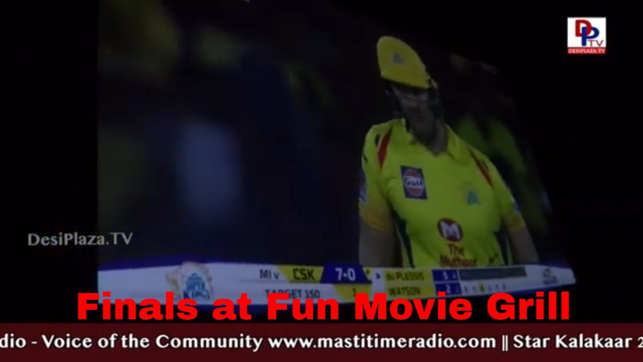 IPL2019 Final Match l Fun Movie Grill l Carrollton l FunAsia l Mumbai Indians Vs Chennai Super Kings