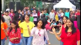 FLASHMOB 2017 -Jakarta Carfree day August 6th