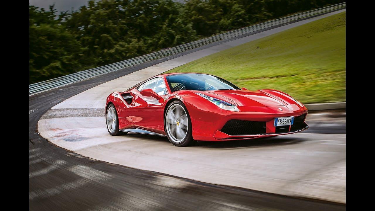 Ferrari 488 Gtb Nordschleife 7 21 63 Min Hot Lap Hockenheim Supertest Sport Auto Youtube